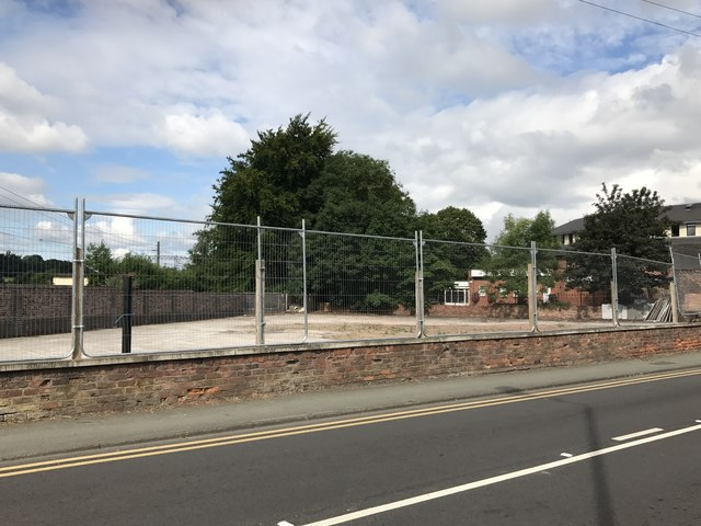 Site of Alsager Arms and car park