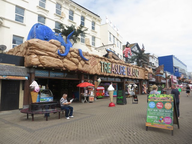 Amusement arcades, Bridlington sea front