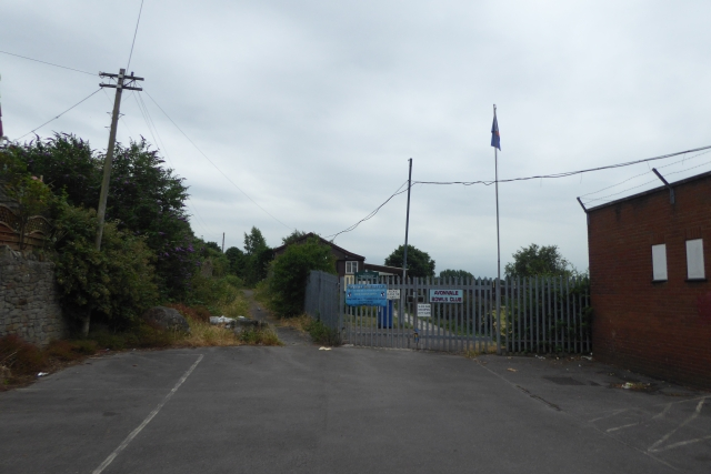Path to the recreation ground