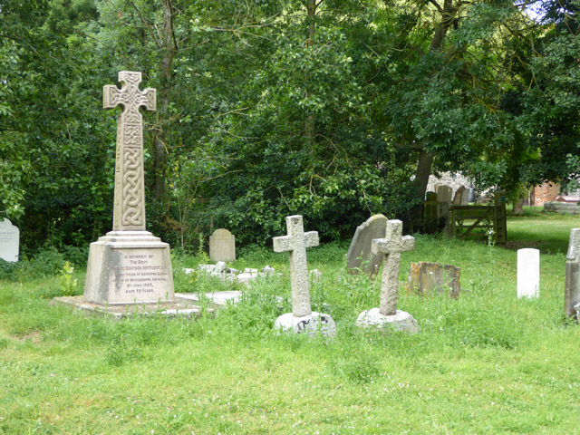 Gravestones, Boughton Aluph churchyard