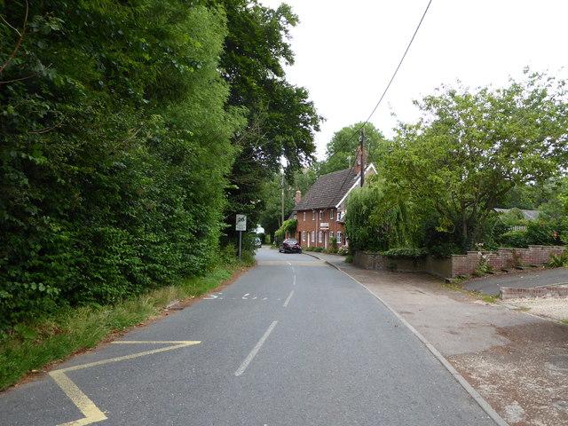 Wetheringsett village street