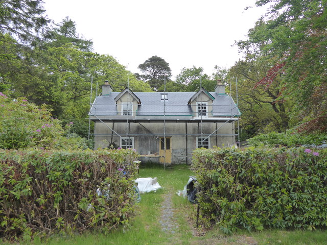 House being renovated at Glenborrodale