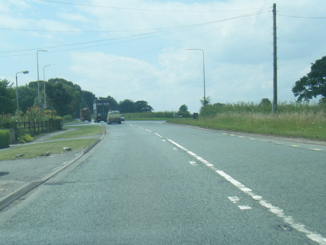 A54 Middlewich Road