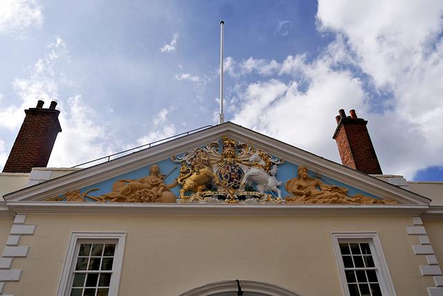 Trinity House Pediment