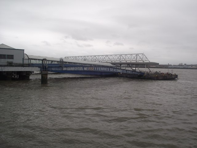 Floating stage, Seacombe ferry terminal