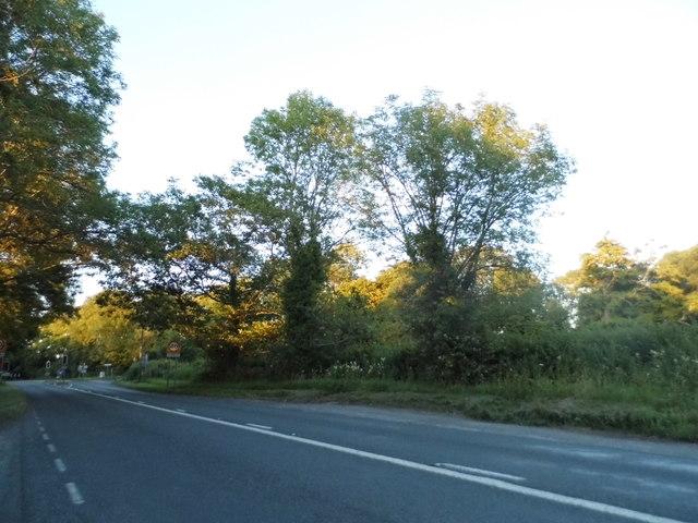 Entering Hursley on the A3090