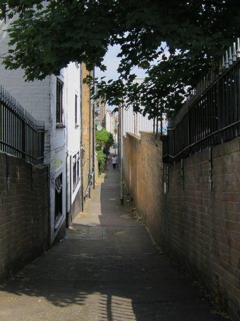 Alleyway from Guru Nanak Marg