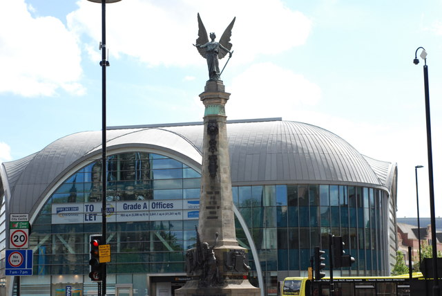 South African War Memorial, Haymarket, Newcastle