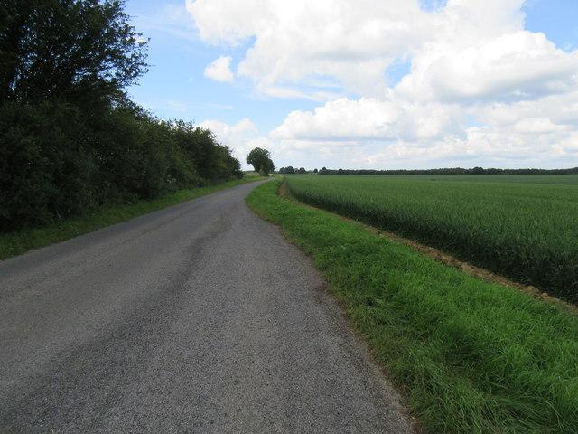 Road across Scamridge