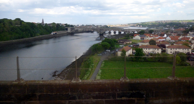 Tweedmouth and the River Tweed