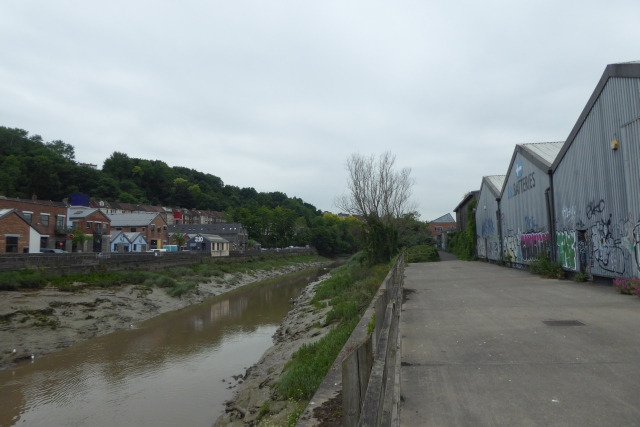 Avon path and industrial units