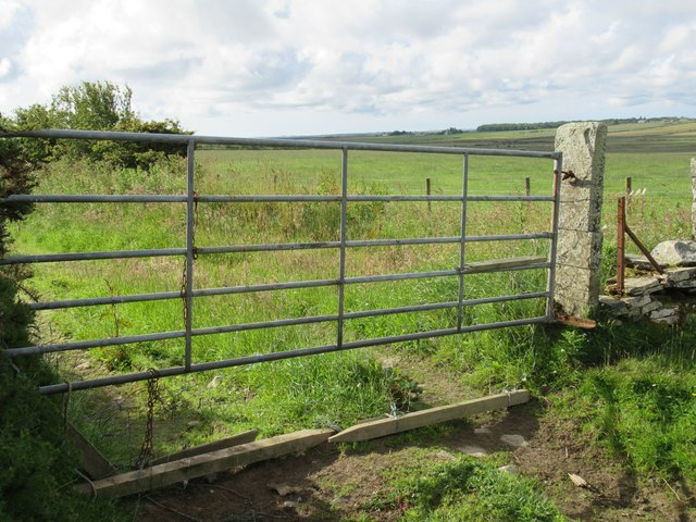 Gateway at Ha' of Alterwall near Wick
