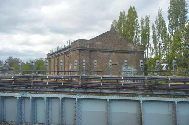 Railway shed