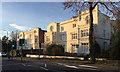 SP3065 : A pair of semi-detached villas, Warwick Place, Royal Leamington Spa by Robin Stott