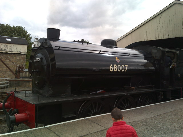 Steam up; ready to go