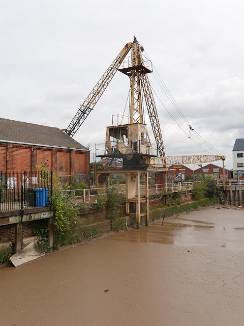 Old Crane at Former Dock