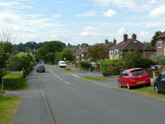 St Wilfrid's Road, West Hallam