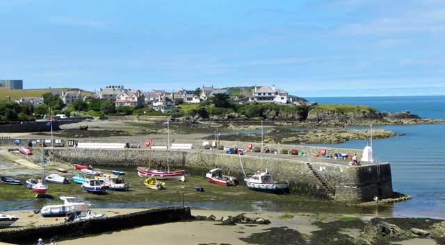 The harbour at Cemaes