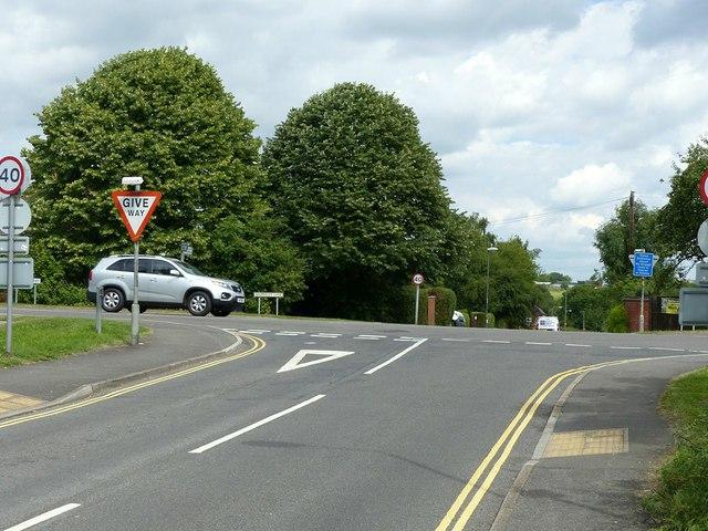West Hallam crossroads