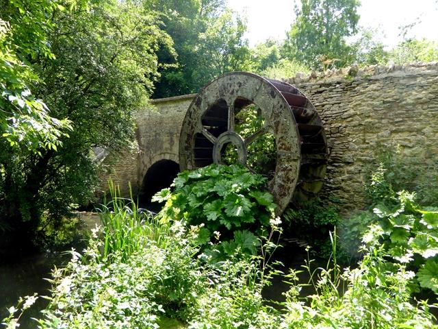 Old waterwheel