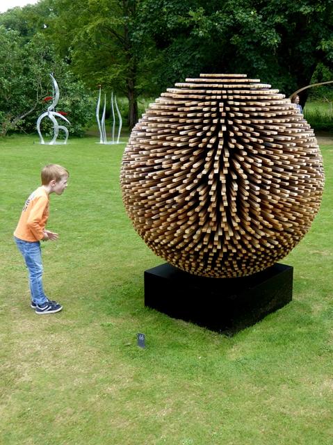 """""""Tedium"""" at the Fresh Air Sculpture Show 2017"""