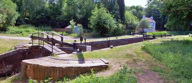 Lock No 15, Basingstoke Canal
