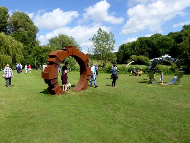 """""""Portals"""" at the Fresh Air Sculpture Show 2017"""
