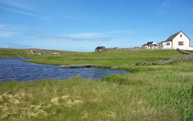 House by Loch Isbister