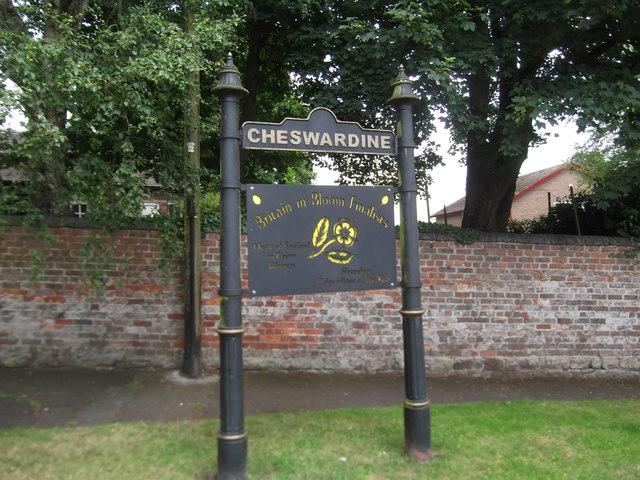Cheswardine Village Sign