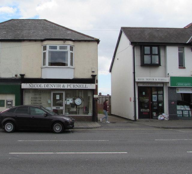 Nicol Denvir & Purnell, Newport Road, Rumney, Cardiff