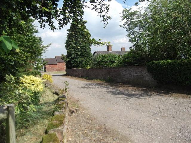 Entrance to Soudley Park Farm
