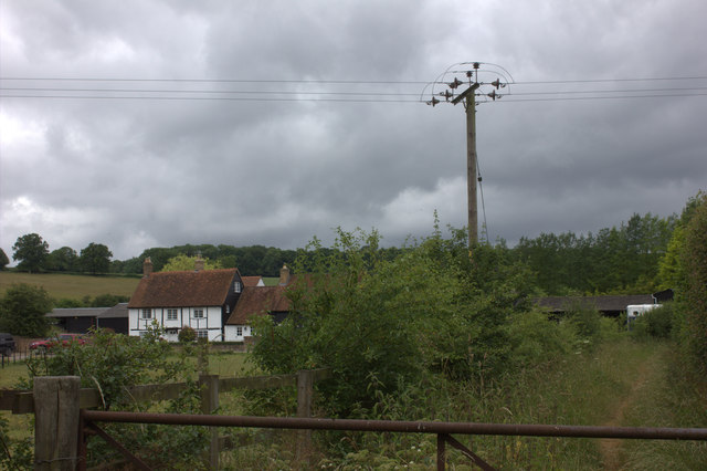 Bower Farm from Vale Road