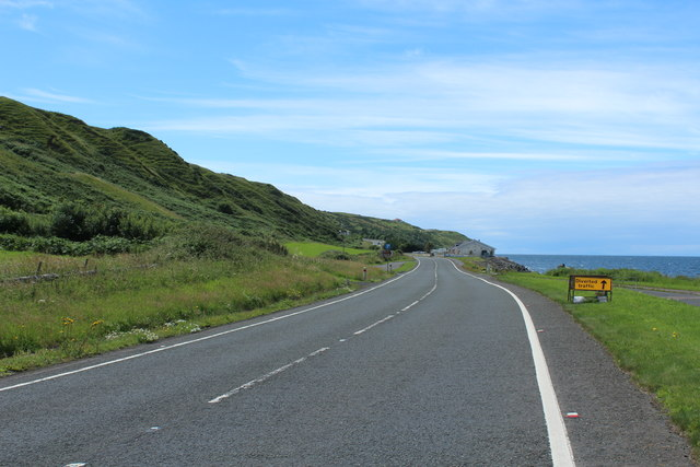 The A77 to Stranraer