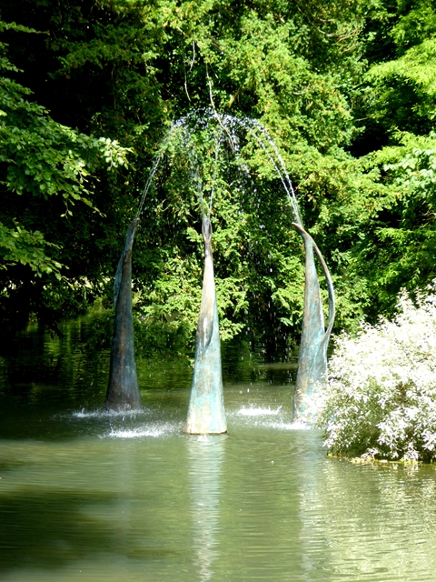 """""""Figure Fountain: Three"""" in the Mill Race"""