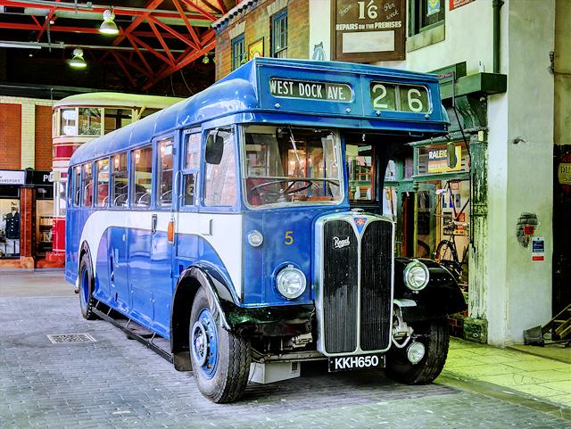 Hull AEC Regal III at the Streetlife Museum of Transport