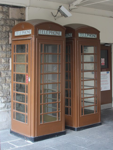 K6 Telephone Boxes at The Royal Terrace Pier