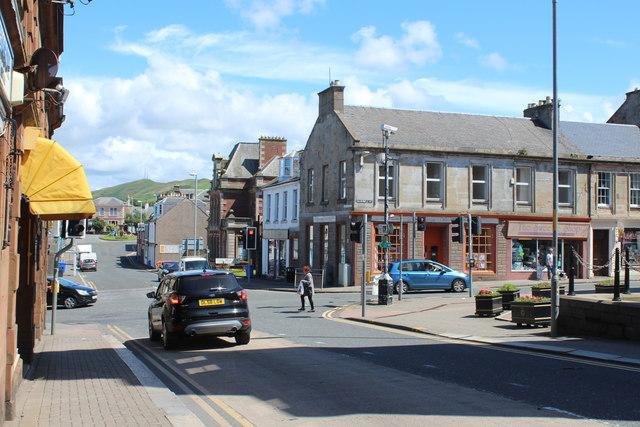 Knockcushan Street, Girvan