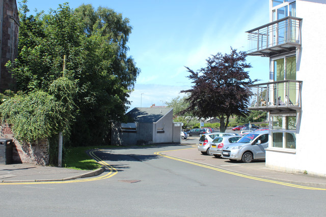 Entrance to Town Centre Car Park