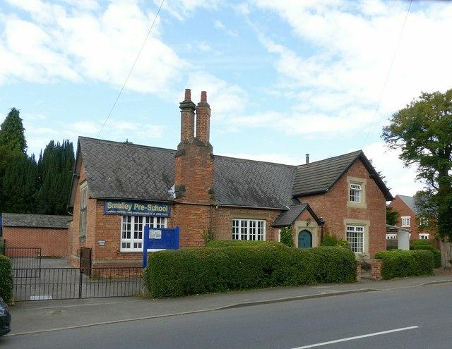 Former village school, Smalley