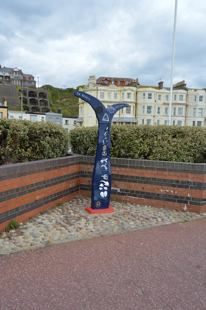 National Cycle Network Milepost