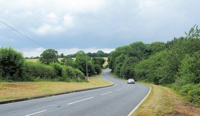Mill Lane-Tamworth Road junction