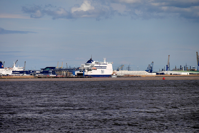 P & O Ferry Terminal, King George Dock