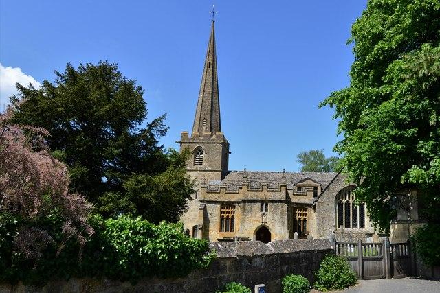 Stanton, St. Michael's Church