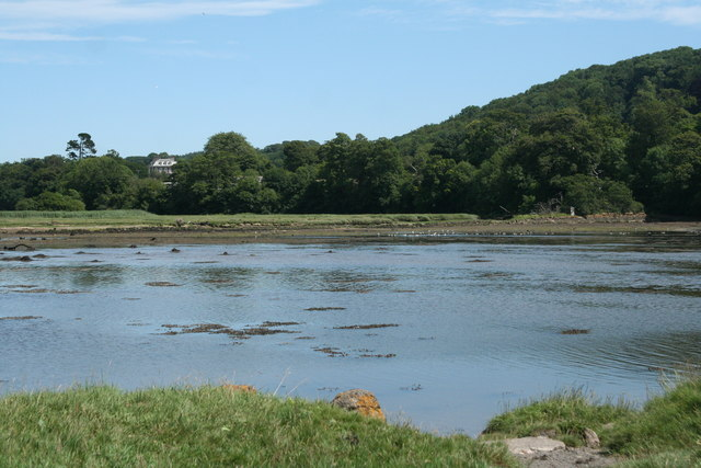 Yealm estuary: towards Puslinch