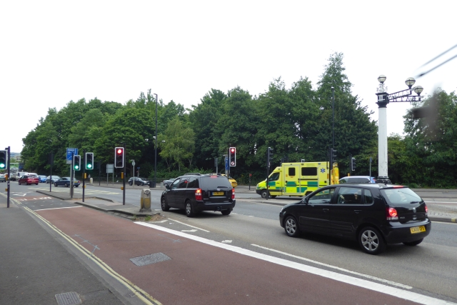 Junction of Bath Road and Wells Road