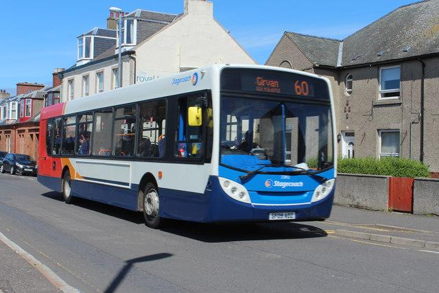 Stagecoach Bus, Girvan
