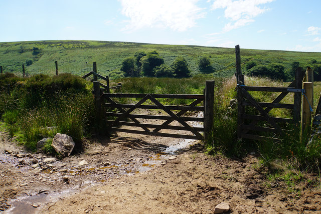 Gate to Thornworthy Little Common