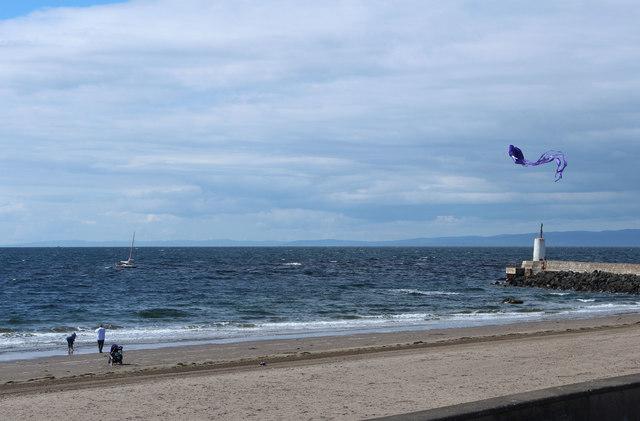 Kite Flying, Girvan Beach