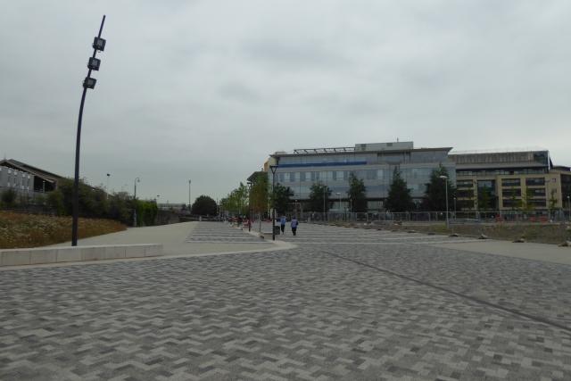 Square near Meads Reach Bridge