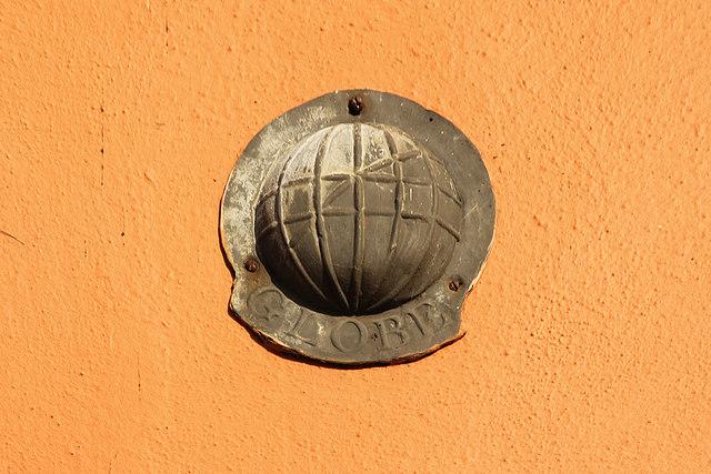 Globe Insurance plaque